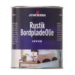 Junckers Rustik Bordpladeolie Hvid 0,75 ltr.