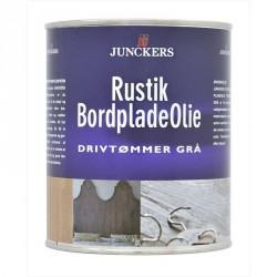 Junckers Rustik Bordpladeolie Drivtømmer Grå 0,75 ltr.