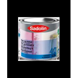 Sadolin Træ og Metal Halvblank (40) 0,5 ltr.