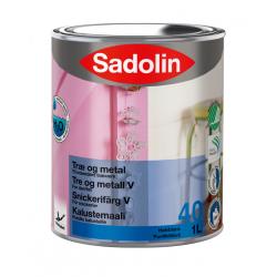 Sadolin Træ og Metal Halvblank (40) 1 ltr.