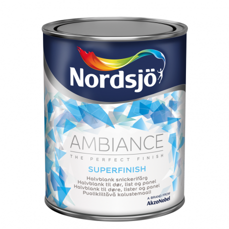 Nordsjo Ambiance Superfinish Halvblank 40 1 ltr.