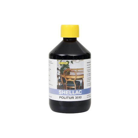 Borup Shellac Filtreret 3510 500 ml.