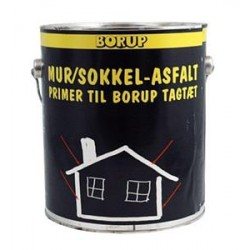 Mur- & Sokkelasfalt/primer til Tagtæt 3,8 ltr.