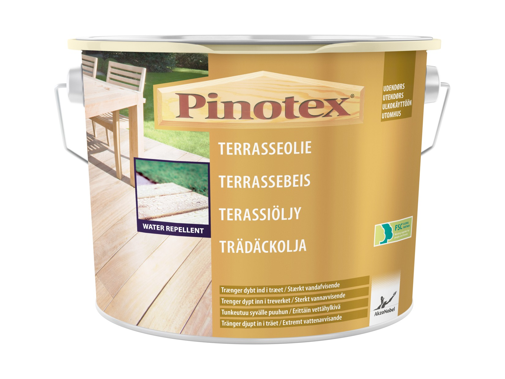 Picture of: Pinotex Terrasseolie 5 Ltr Nordicmaling Dk