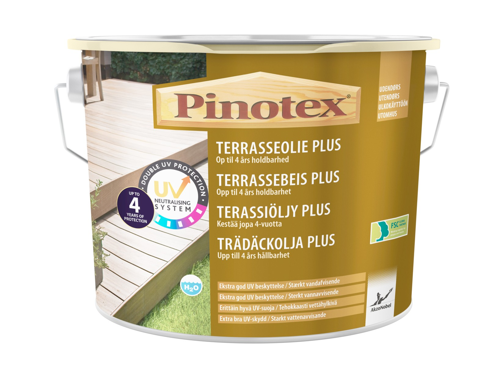 Picture of: Pinotex Terrasseolie Plus Tonet 5 Ltr Nordicmaling Dk