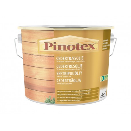 Pinotex Cedertræsolie 2,5 ltr.