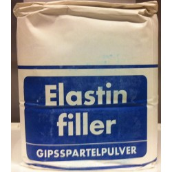 Elastin Gipsspartelpulver 5 kg.