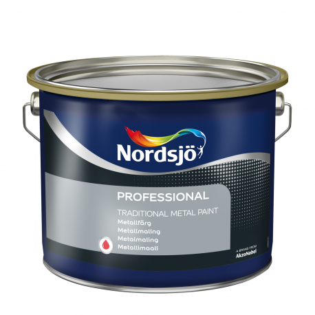 Nordsjö Professional Traditional Metal Paint 2,5 ltr.