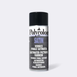 Satin Varnish Spray 400 ml.