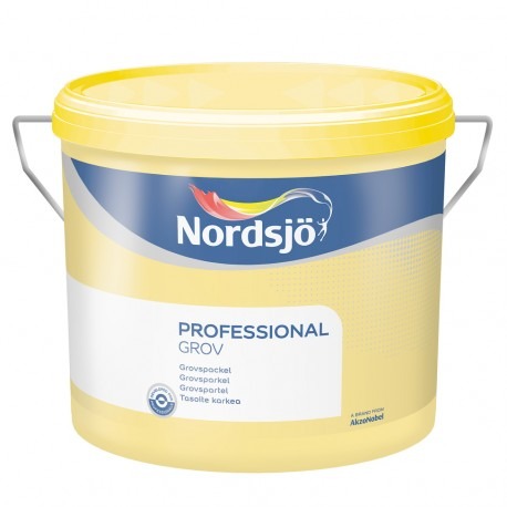 Nordsjo Professional Grovspartel 10 ltr.