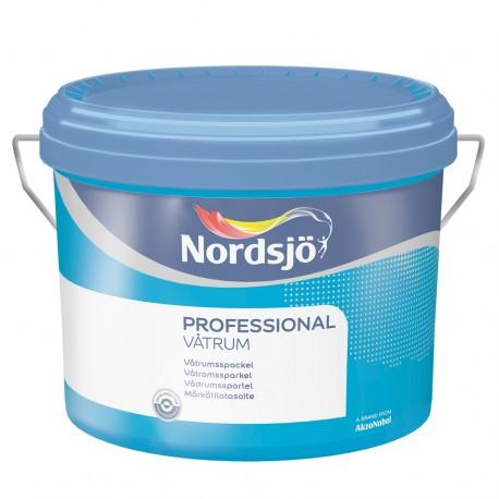 Nordsjo Professional Vådrumsspartel 10 ltr.