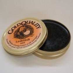 Gold Quality Læderfedt sort 190 ml.