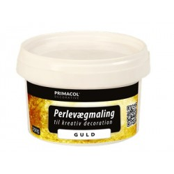 Perlespartelmasse guld 250 g.