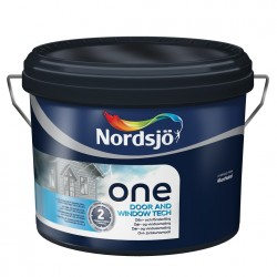 Nordsjö One Door and Window Tech Sort 2,5 ltr.