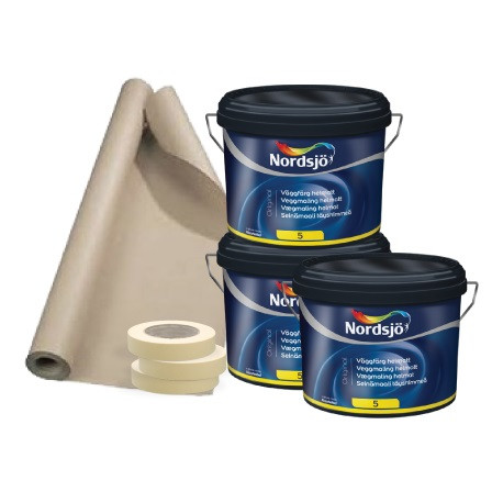 Malerpakke lejlighed 35 - 50 m2