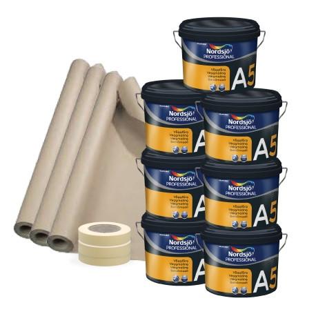 Malerpakke Liebhaver 100 - 125 m2