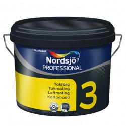 Nordsjö Prof 3 sort 10 ltr.