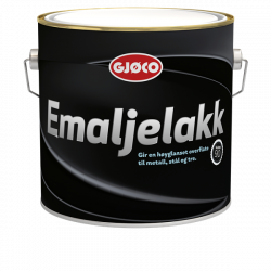 Gjøco Emaljelak 90 2,7 ltr.