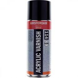 Amsterdam Acrylic Varnish Glossy 114  400 ml. spray