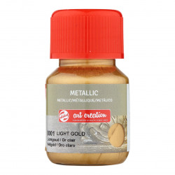 Art Metallic Light Gold 30 ml