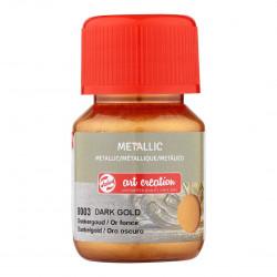 Art Metallic Dark Gold 30 ml
