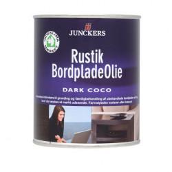 Junckers Rustik Bordpladeolie Dark Coco 0,75 ltr.